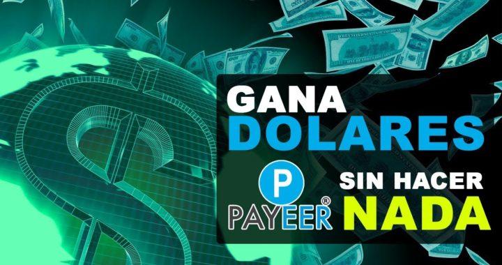 COMO GANAR DOLARES A PAYEER SIN HACER NADA MINIMO DE RETIRO $0.03  - 10 NIVELES DE REFERIDO