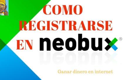 Como registrarse en NeoBux - ganar dinero desde casa 2018