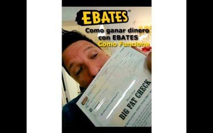 Como usar EBATES y ganar Dinero Tutorial en Español