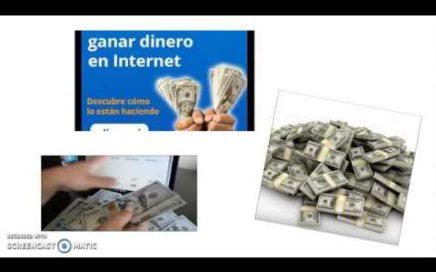 Dinero Ganar Dinero[Dinero Ganar Dinero] en Internet.