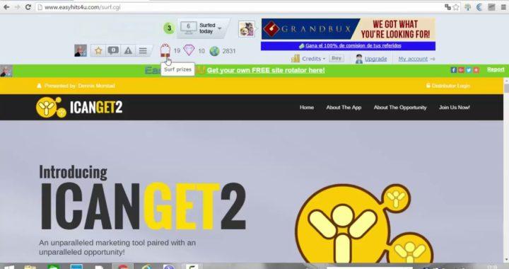Easyhits4u   Gana Dinero Gratis Y Trafico Para Tu Web O Blog