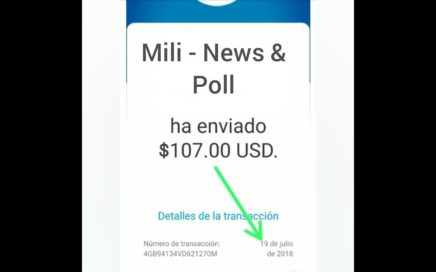 Está Aplicacion Me pago $107,00 USD Nueva 2018 - 2019