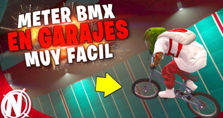 Exclusivo! METER BMX EN PLAZA DE GARAJE *Sin Ayuda* GTA 5 Online Muy FACIL!