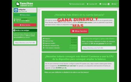 Fancitos Comparte un Clic Nueva Minería Pagos Directo  a Paypal