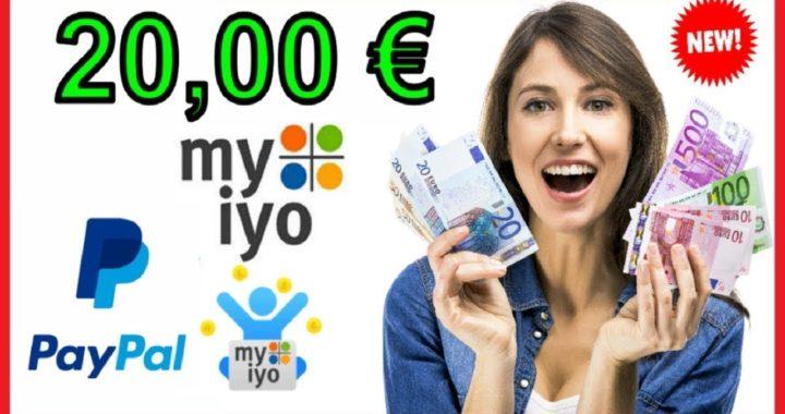 GANA 20 00€ Euros a  Paypal, 100% GRATIS + Prueba de Pago