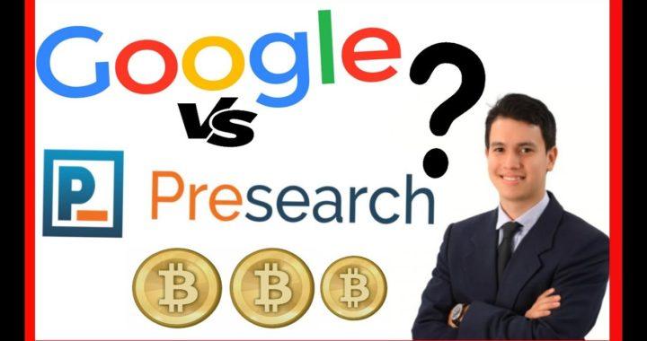 Gana Dinero BUSCANDO en GOOGLE Criptomonedas PreSearch