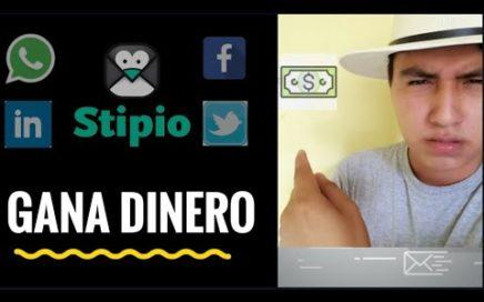 Gana dinero con Tus redes sociales y correos (Email) | #Stipio #REAL
