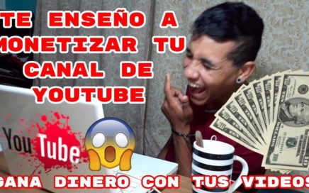 GANA DINERO CON TUS VIDEOS EN YOUTUBE David Silva