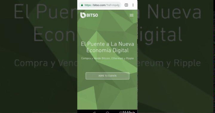 Gana dinero desde tu celular - Usando Freebitcoin y Bitso (Parte 3) - Crea cuenta en Bitso y retira.