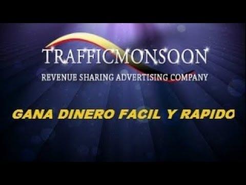 Gana Dinero en Internet Facil - 2018- Trafficmonson la mejor PTC