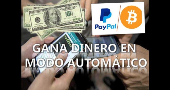 Gana dinero en modo automático con Telegram (Bitcoin/Paypal)