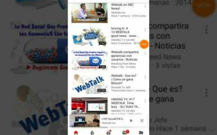 Gana dinero por internet Webtalk en Espanol preguntas