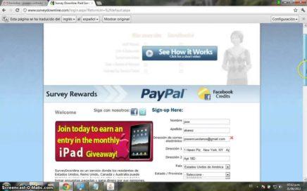 Gana dinero por responder encuestas pagadas con surveydowline