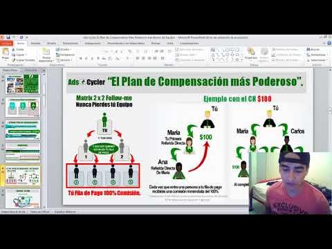 Gana Mas De $2000 Dolares En Tu Primer Mes Con AdsCycler (Ganar Dinero Desde Casa 2018)