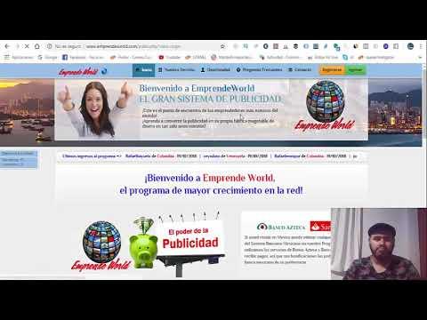 Ganar Dinero con Paypal, Emprende World