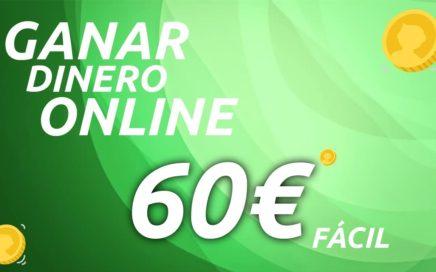 GANAR DINERO FÁCIL :  60€ SÓLO POR REGISTRARTE Y 2,5€ POR CADA AMIGO ¡100% FIABLE!