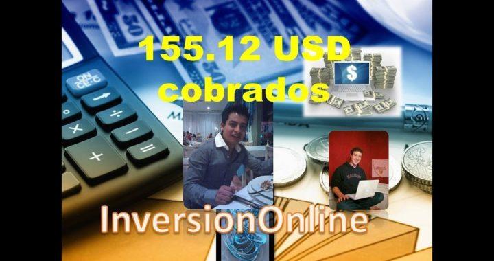 Ganar dinero por Internet es posible 155.12 usd directo a mi cuenta