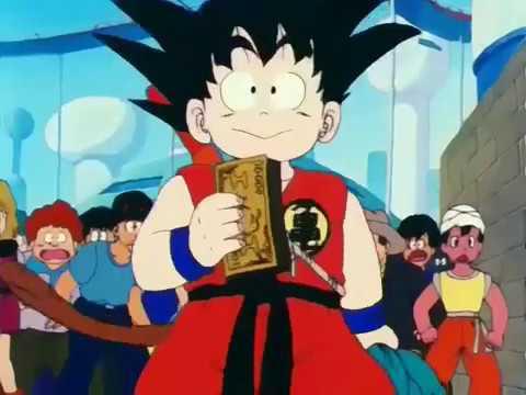 Goku consigue dinero en pelea callejera - todos se ríen de Goku