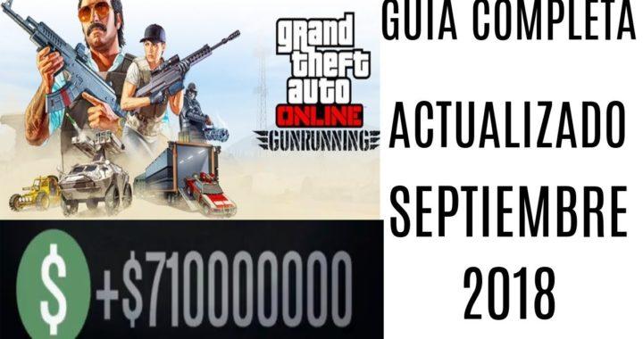 GTA ONLINE-COMO HACERTE MILLONARIO CON EL BUNKER- GUIA COMPLETA ACTUALIZADO SEPTIEMBRE DE 2018