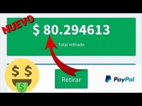 INCREÍBLE APP PARA GANAR 30 USD DIARIOS EN PAYPAL/ Como ganar dinero en PayPal brutal mente 2018