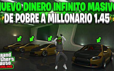 INCREIBLE! HAZTE RICO CON ESTE TRUCO FACIL DE DINERO INFINITO MASIVO GTA 5 ONLINE 1.45 PS4 XBOX ONE