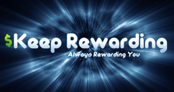 KEEP REWARDING: Fácil para ganar 1$ en paypal