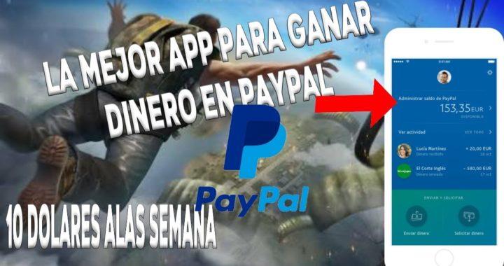 ¡ La mejor app de Android para ganar dinero en PayPal!¡10$ ala semana!
