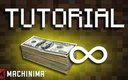 MINECRAFT TUTORIAL | ¿Como conseguir dinero infinito en los servidores?