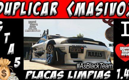*MONEY GLITCH GTA V Online* - TRUCO DE DINERO INFINITO - DUPLICAR CUALQUIER AUTO - PLACAS LIMPIAS