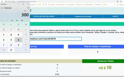 MyMoneyHour com estrategia legendaria para ganar dinero desde mi pc 2018