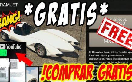 "*NEW* - FREE CARS - COMPRAR COCHES ""GRATIS"" - GTAV - !PLACA 100.000 Suscriptores! - (PS4 - XBOX One)"