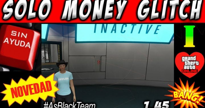 "*NEW SOLO MONEY GLITCH* - DUPLICAR COCHES ""SIN AYUDA"" - GTA V 1.45 - PLACAS LIMPIAS - ""TP"""
