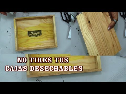 No tires LAS CAJAS DESECHABLES.!!!PUEDES GANARLES MUCHO DINERO!!!