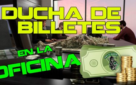 OFICINA GTA V ONLINE con MUCHO DINERO | Finanzas y Crimen DLC | CREW SAMCRO CELTICS |