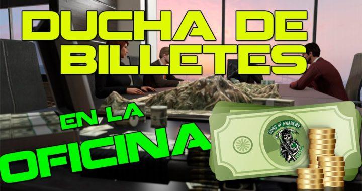 OFICINA GTA V ONLINE con MUCHO DINERO   Finanzas y Crimen DLC   CREW SAMCRO CELTICS  