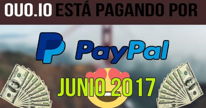 OUO.IO ESTA PAGANDO POR PAYPAL | COMPROBANTE DE 130 USD POR PAYPAL