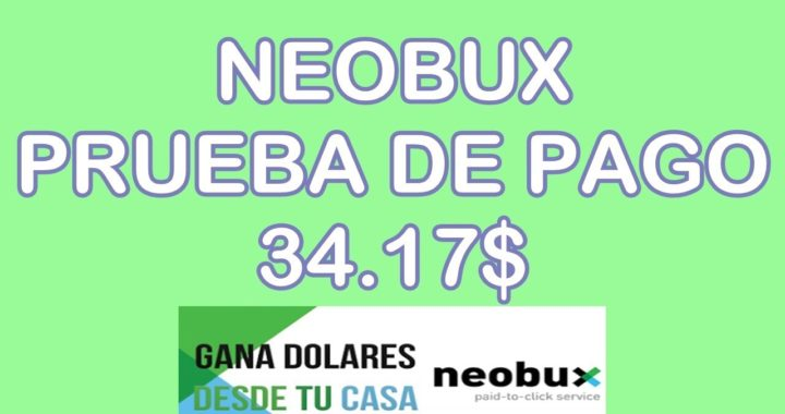 Prueba de Pago Neobux-Figure Eight