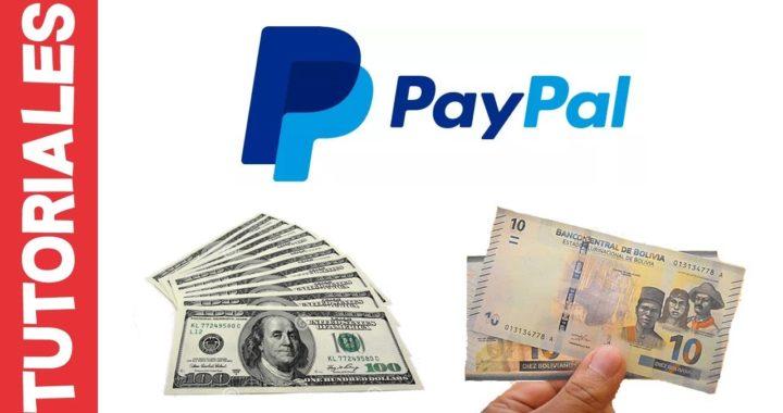 Recibir pagos por PayPal y sacarlos en efectivo en Bolivia [Nuevo método en la descripción]