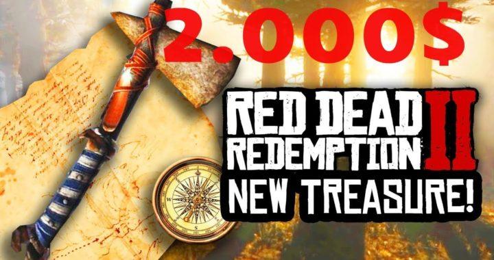 red dead redemption 2 DINERO RAPIDO MAPA DEL TESORO COMO GANAR 2000$ FACIL