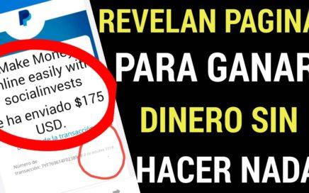 REVELAN APPS PARA GANAR DINERO SIN HACER NADA/vía paypal