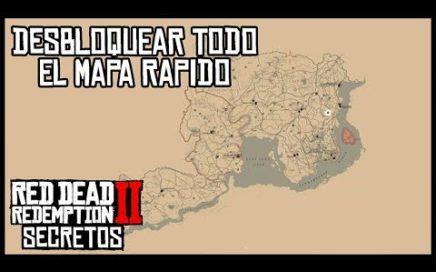 SECRETOS Y TRUCOS RED DEAD REDEMPTION 2 #3 - COMO DESBLOQUEAR TODO EL MAPA RAPIDO