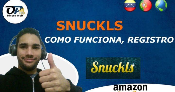 SNUCKS - COMO FUNCIONA, REGISTRO