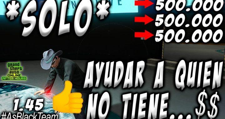   SOLO MONEY GLITCH   - 500.000$ SIN AYUDA - GTA V -   PROPUESTA: AYUDAR A QUIEN NO PUEDE HACERLO  