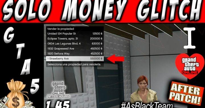 *SOLO MONEY GLITCH* - | AFTER PATCH | - GTA V - SIN AYUDA - GANAR $1.500.000$ SIN DUPLICAR