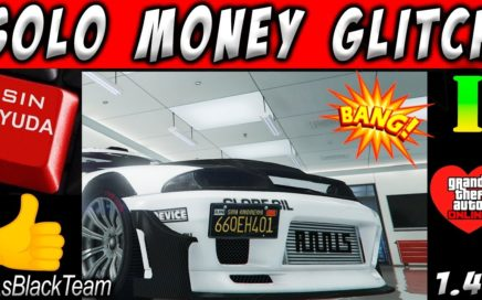 *SOLO MONEY GLITCH* - DUPLICAR AUTOS SOLOS SIN AYUDA - GTA V - PLACAS LIMPIAS - (PS4 - XBOX One)