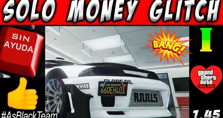 *SOLO MONEY GLITCH* - DUPLICAR AUTOS SOLOS SIN AYUDA - GTA V - PLACAS LIMPIAS - (PS4 - XBOX One)