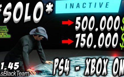 *SOLO MONEY GLITCH* - EL MEJOR TRUCO DE TODOS LOS TIEMPOS? - GTA V 1. 45 - (PS4 - XBOX One)