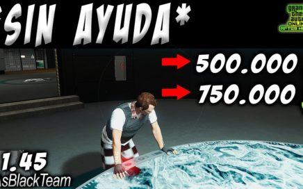 *SOLO MONEY GLITCH* - GANA 500 o 750.000$ SIN AYUDA CADA 2 MINUTOS - GTA V - | SIGUE FUNCIONANDO |