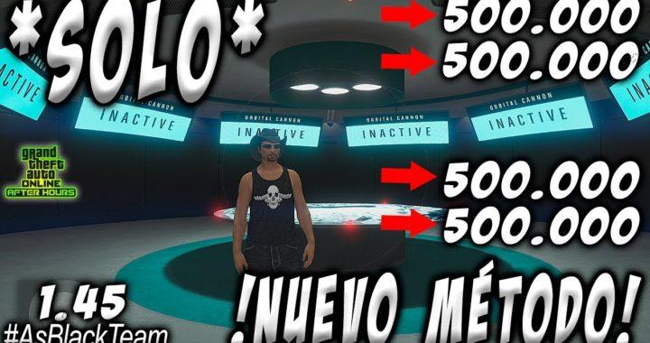 *SOLO* - | SIN AYUDA | - GTA V - GANAR 500.000$ SIN ESPERAS - NUEVO MÉTODO - (PS4 - XBOX One)