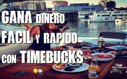 TimeBucks | Gana Dinero Fácil y Rápido | VGD